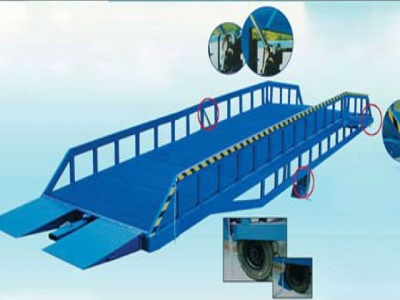 Heavy-duty mobile dock ramp